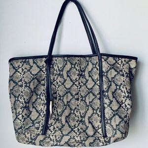 Kate Landry Tote Snake Print bag